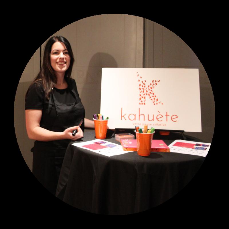 Agence Evénementiel Kahuète (Bretagne)⎜Nolwenn Helou fondatrice de l'agence Kahuète